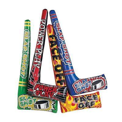IN-49/197 Inflatable Hockey Sticks Per Dozen (Inflatable Hockey Player)