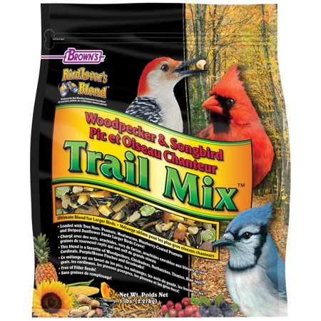 Bird Lover's Blend Woodpecker & Songbird Trail Mix, 5 lb.