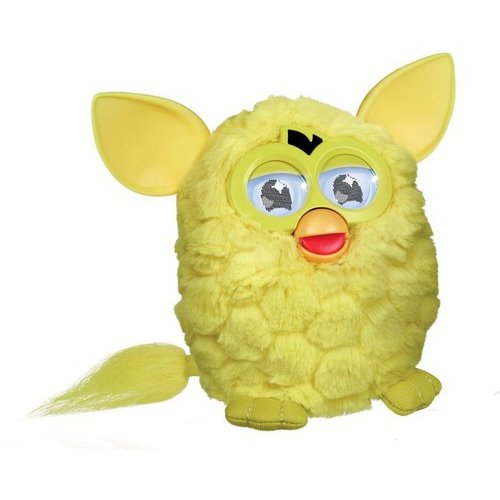 Furby Sprite Figure, Yellow by Hasbro, Inc