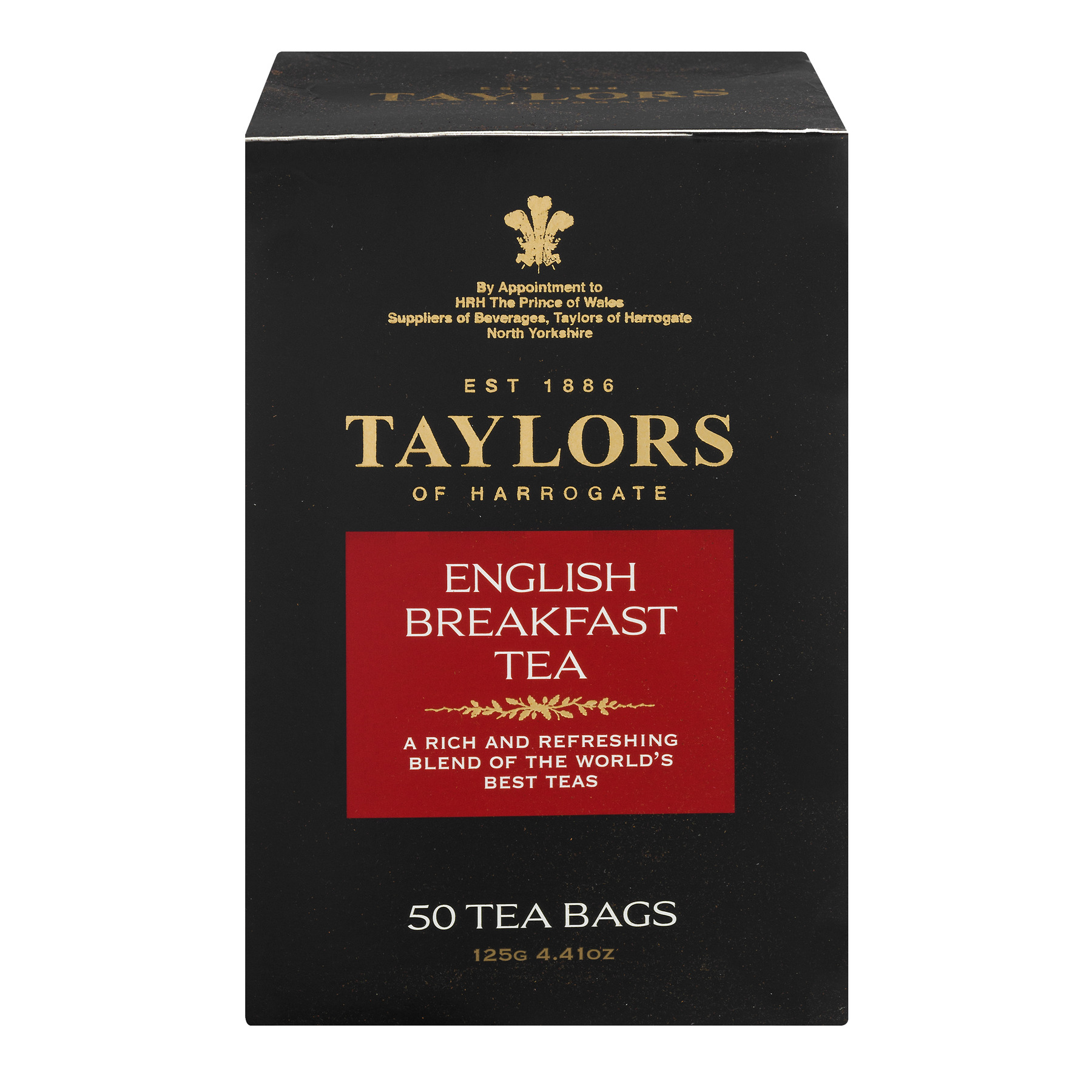Taylors Of Harrogate English Breakfast Tea, 50.0 CT