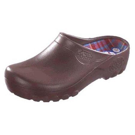 Jolly Fashion Clog Brown Metric 38 - US Size 8 (Earth Womens Dharma Clog)