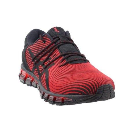 asics mens running 9 red