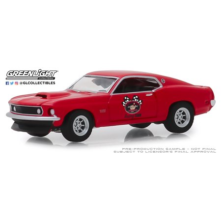 Greenlight 1:64 Busted Knuckle Garage Series 1 1969 Ford Mustang BOSS