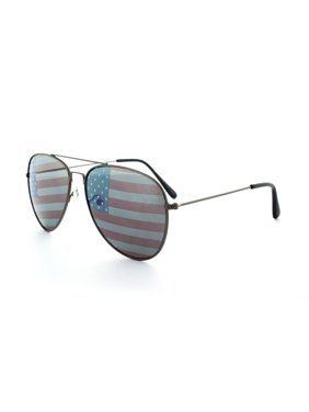 4031c71d097 Product Image MLC EYEWEAR Classic Aviator Sunglasses Tri-Layer Unisex -  BU-FLAG