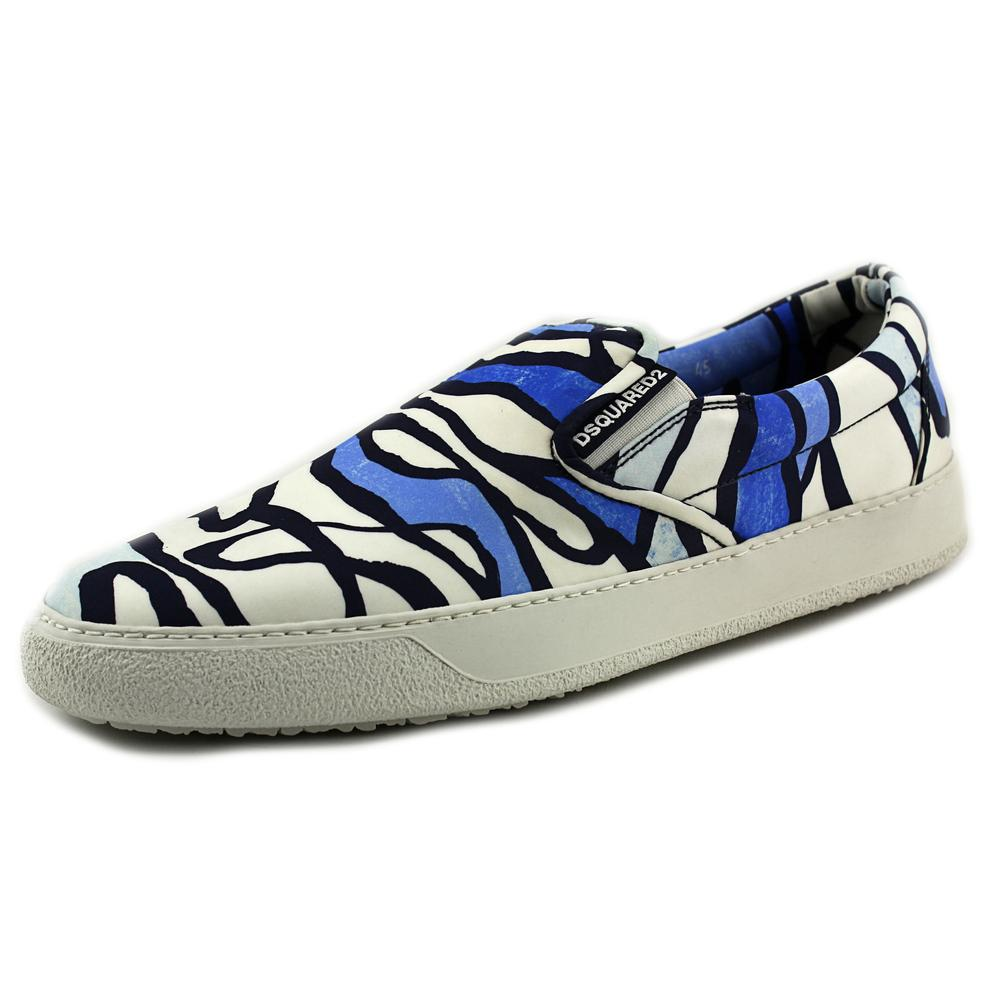 DSquared2 3084 Men  Round Toe Canvas  Sneakers
