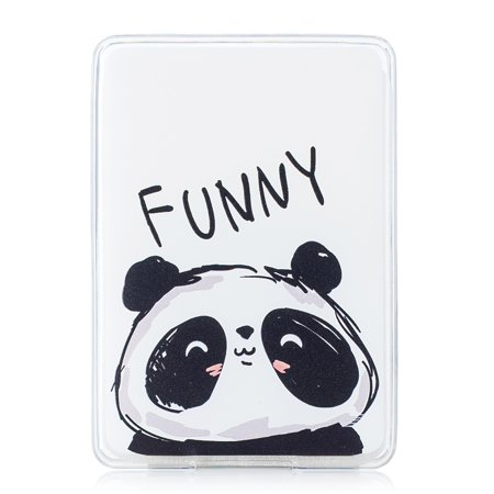 TPU Silicone Case for Kindle Paperwhite 3 2 1- Allytech Unique Painting Soft Flexible Shock Absorbent Protective Cover for Amazon Paperwhite(All 2012 2013 2014 2015 2016 Versions), Funny Panda ()