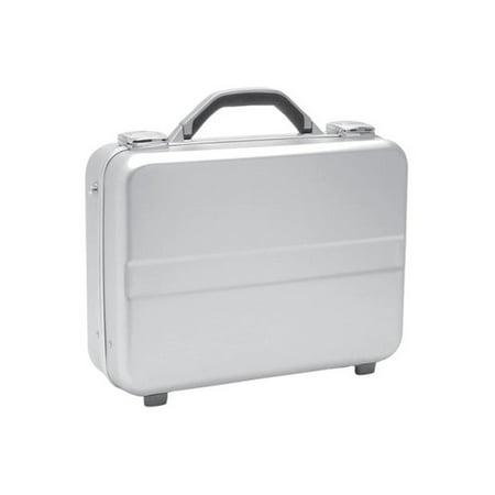 TZ Case AC-77 S Compact Molded Aluminum Attache Case, Silver 2' Slim Attache Case