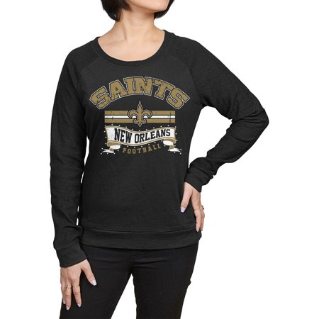 NFL New Orleans Saints Juniors Fleece Top by