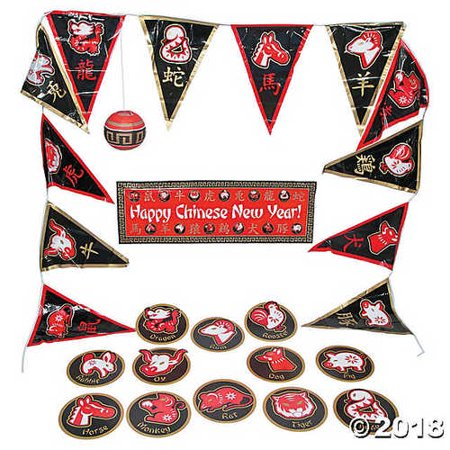 Chinese New Year Decorating Kit - Decorating For Chinese New Year