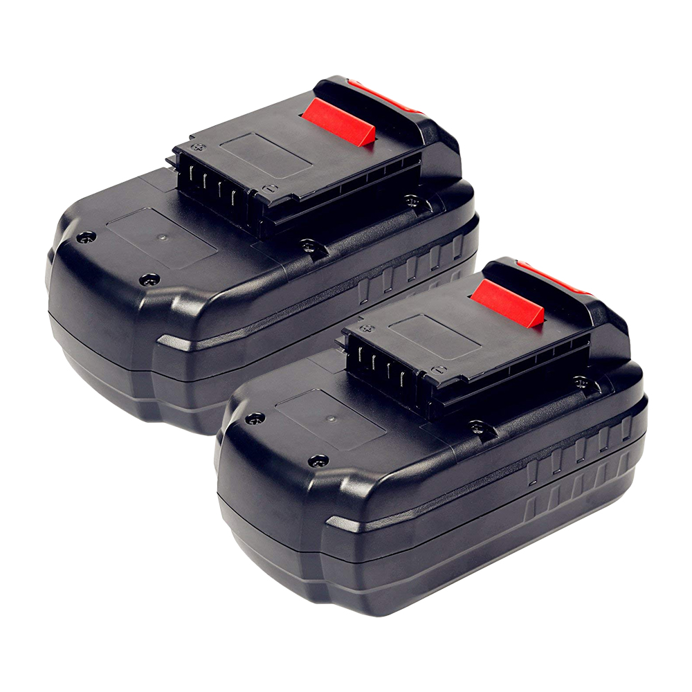 Power Tool Battery For PORTER CABLE, 2-Pack, PC18B