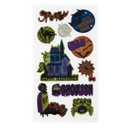 Sticko Stickers, Ghoulish Halloween](Ghoulish Halloween Treats)