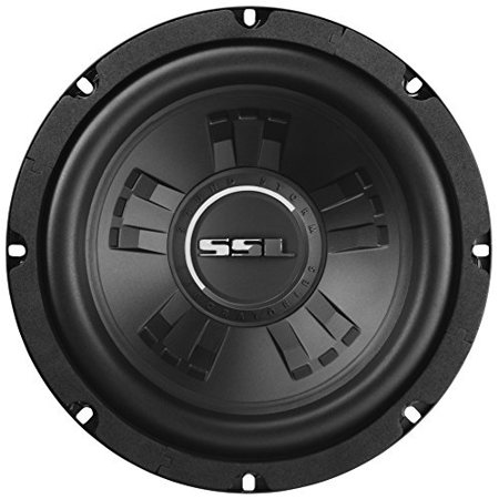 sound storm ssld8 car subwoofer - 600 watts maximum power, 8 inch, dual 4 ohm voice coil, easy mounting (sold individually)