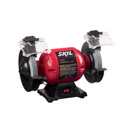 Skil 3380-01 6 in. Bench Grinder with Light