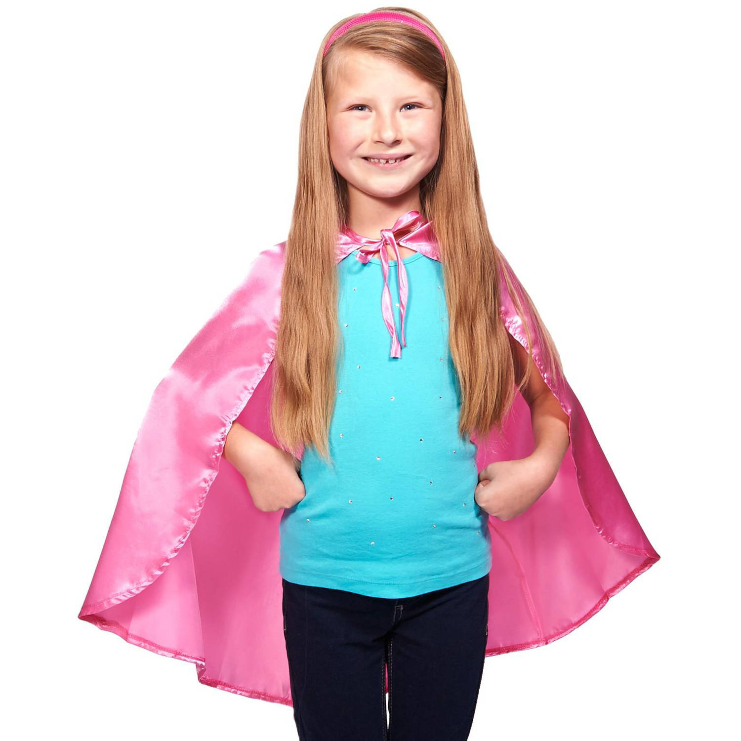 Pink Cape Halloween Accessory