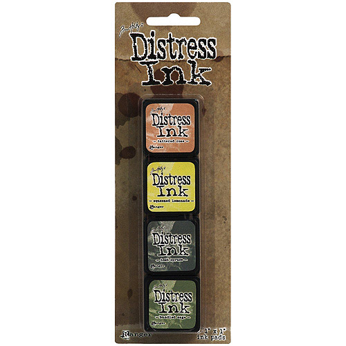 Distress Mini Ink Kits, Kit 10