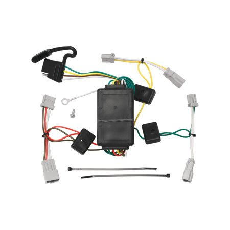 Tow Ready 118420 Wiring T-One Connector; Circuit Protected Converter; 3 Wire System; Amp Rating 2.1; 5;