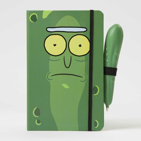 Rick And Morty: Pickle Rick Hardcover Ruled Journal With