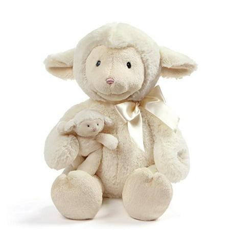 "Baby GUND Animated Talking Nursey Time Lamb with 5 Nursery Rhymes, 10"" ()"