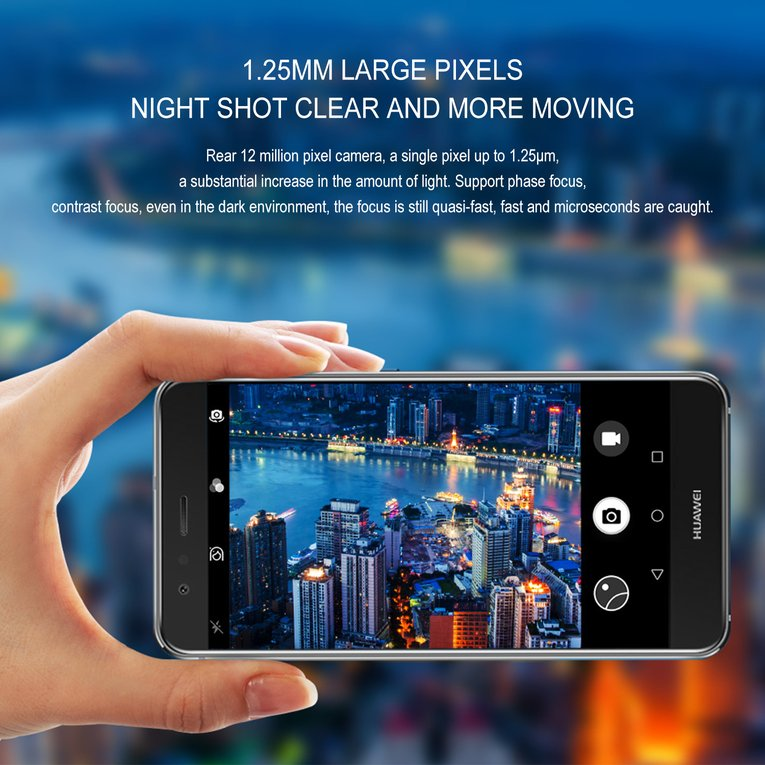 Huawei Nova 4G 5.0inch 1920X1090P Fingerprint ID Capacitive Screen Smartphone Cell