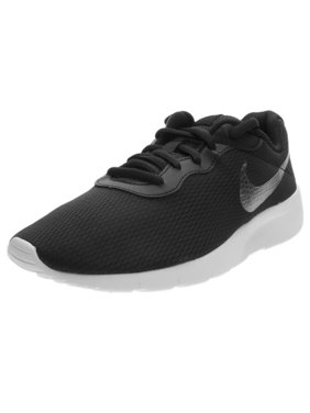 Product Image Nike 818381-014   Boy s Tanjun Shoe Black Metallic  Pewter White 6861c557b