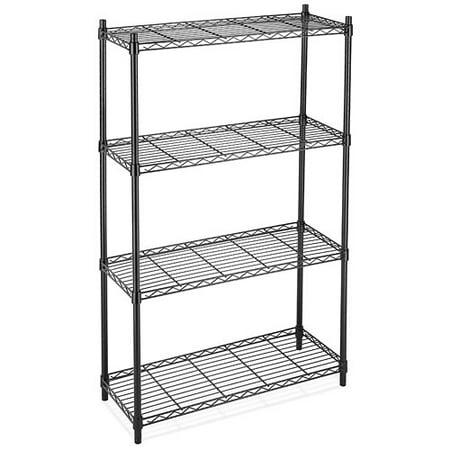Whitmor Supreme 4-Tier Shelving System - Utility Shelves