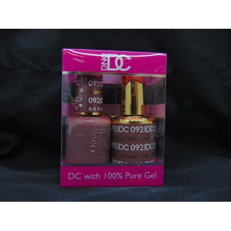 DND - DC Duo Soak off Gel & Matching nail polish, #092 - Russet (Russet Color)