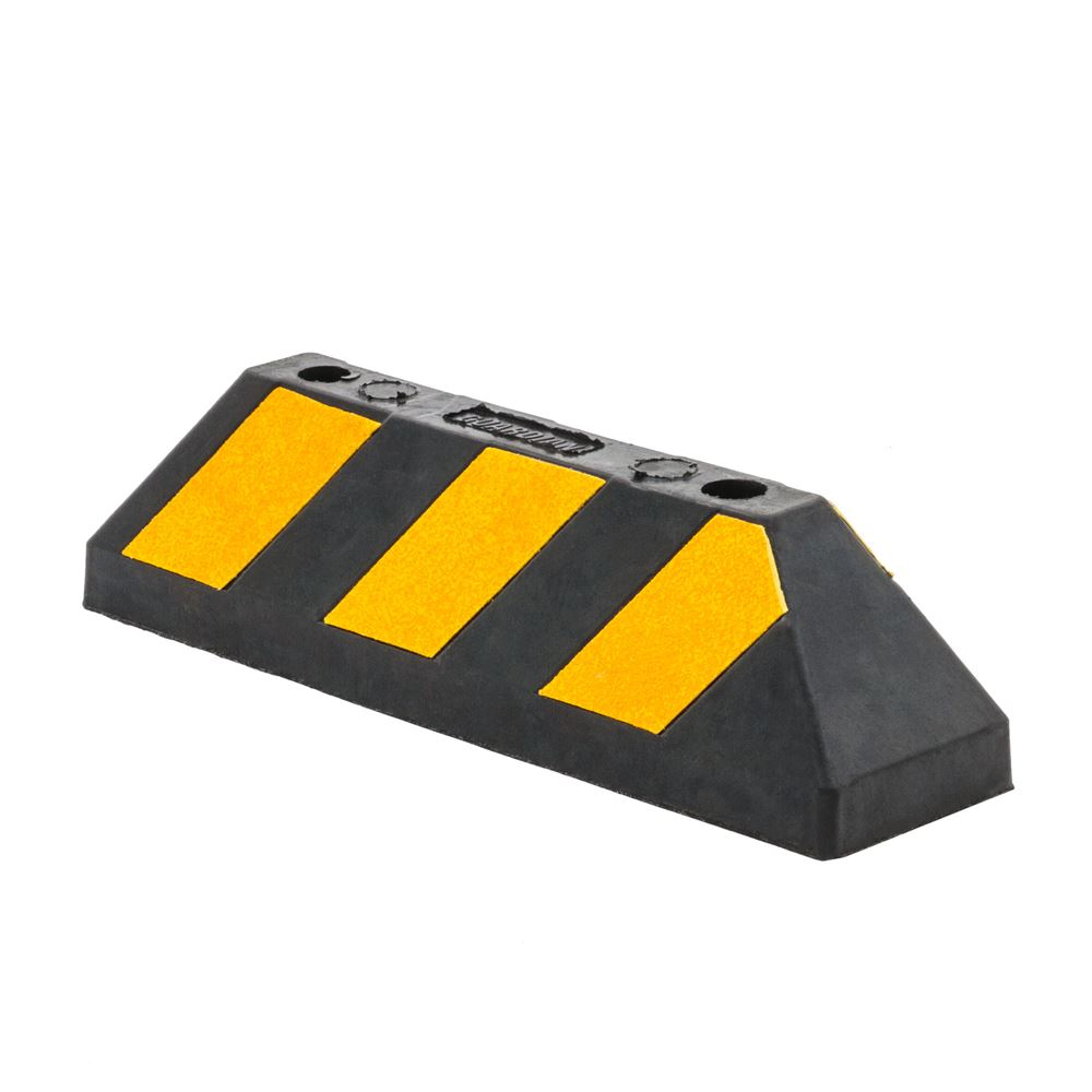 Guardian Rubber Block Parking Curb for Driveways or Garages