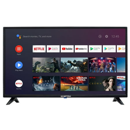 "Sceptre 32"" Class HD (720p) Android Smart LED TV with Google Assistant (A328BV-SR)"