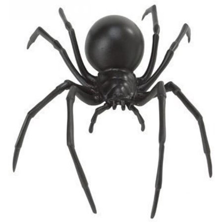 Safari Ltd Hidden Kingdom - Black Widow Spider - Realistic Hand Painted Toy Figurine for Ages 3 and Up - Large