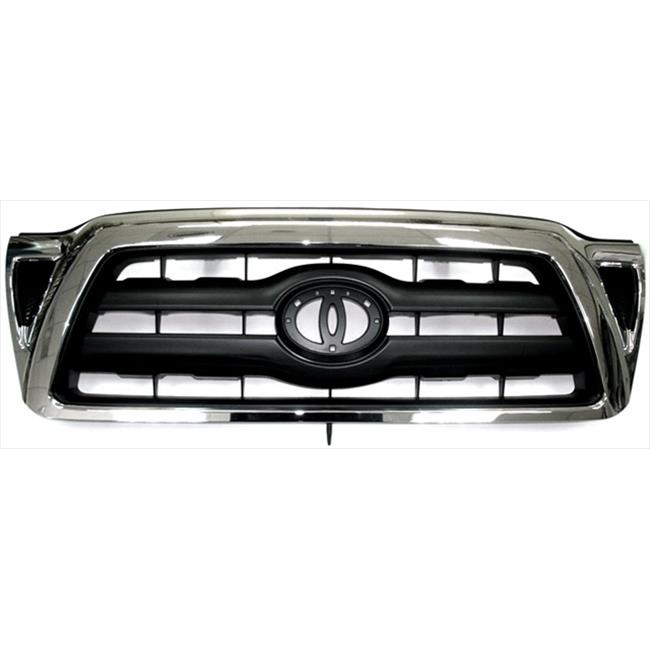 IPCW CWG-TY4407D0 Toyota Tacoma 2005 - 2010 Grille, Oe Replacement Chrome, Black