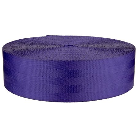 2 Inch Periwinkle Polyester Webbing