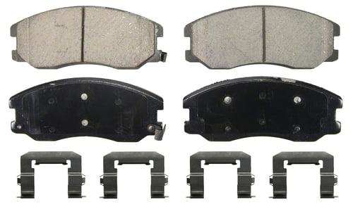 Rear Ceramic Brake Pads For 2007 2008 2009 Pontiac Torrent Suzuki XL-7 Low Noise