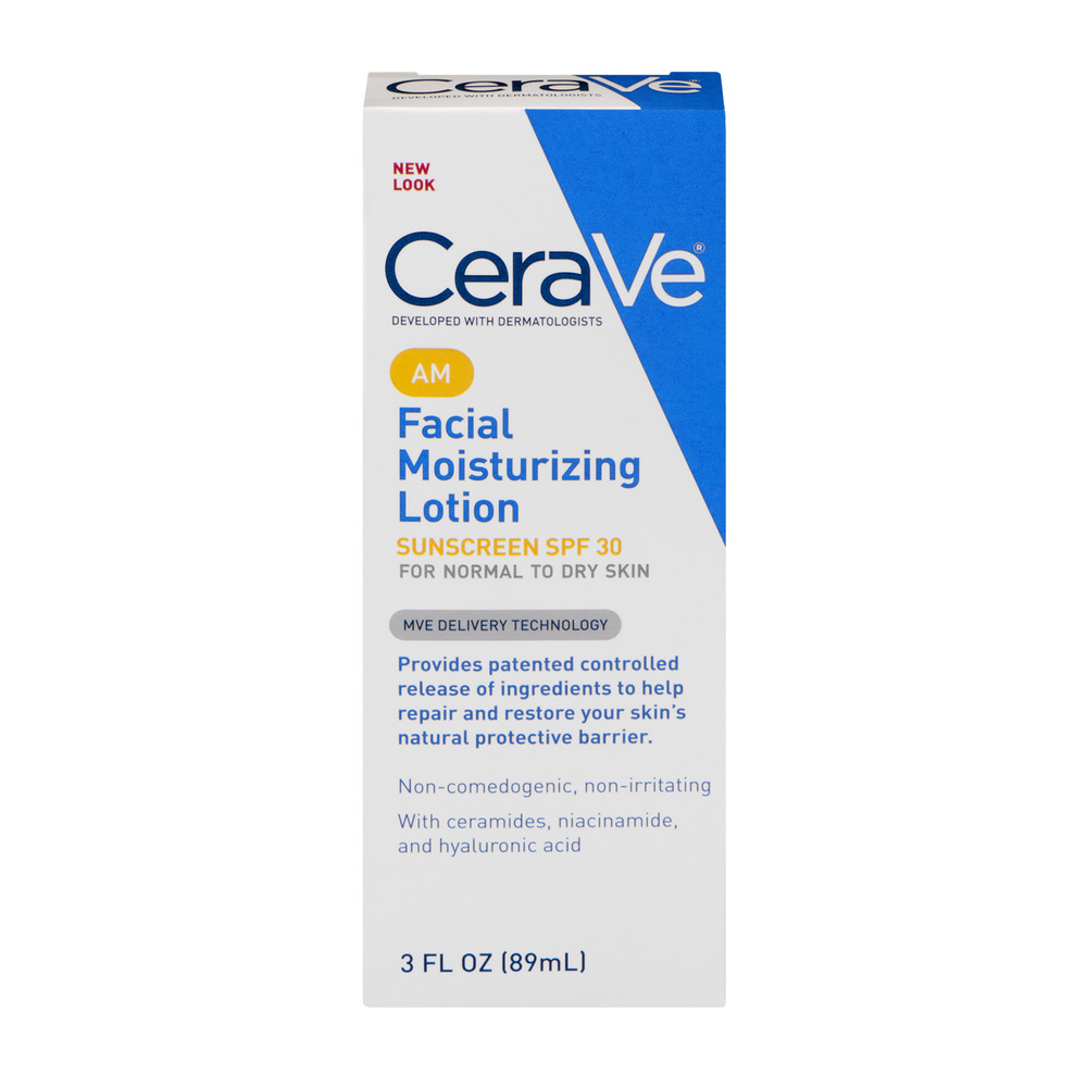 CeraVe Facial Moisturizing Lotion AM, 3.0 FL OZ