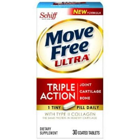MOVE FREE Ultra Supplément mixte w / collagène et l'acide hyaluronique 30 bis (Paquet de 2)