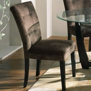 Matinee Chocolate Parsons Chair- Set of 2