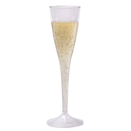 WNA Plastic Champagne Glass, 1 Each