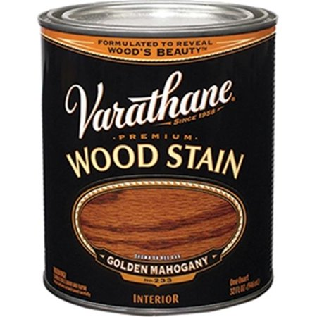 Varathane Wood - Golden Mahogany Oil Base Stain, Quart Varathane Stain 211718H 020066128081