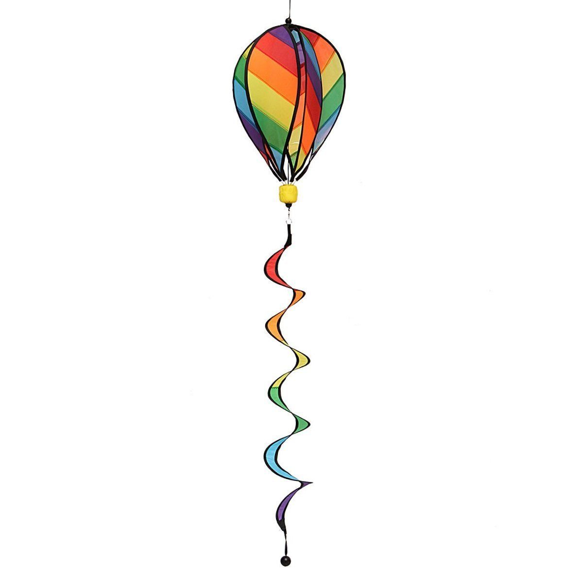 Garden Yard Wind Spinner, Mini-Factory Colorful Hot Air Balloon Wind Spinner Hanging... by