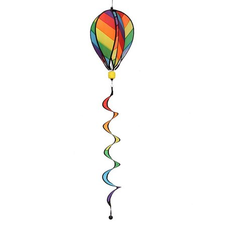 Garden Yard Wind Spinner Mini Factory Colorful Hot Air Balloon Hanging Decoration