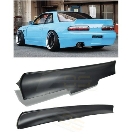 For 89-94 Nissan 240SX S13 2Dr Coupe Convertible Rocket Bunny Style FiberGlass Rear Trunk Lid Wing Spoiler Lip 1989 1990 1991 1992 1993 1994 89 90 91 92 93 94
