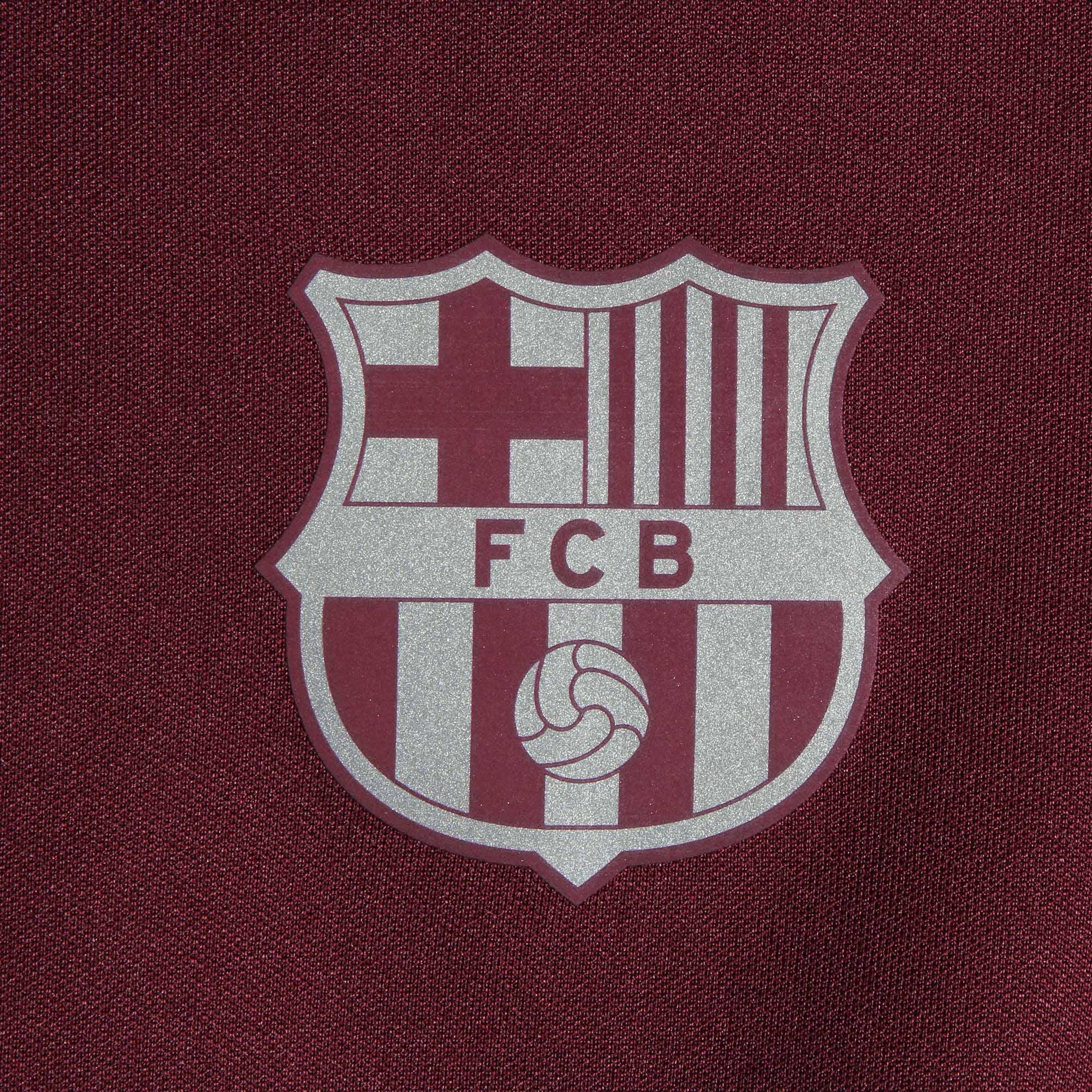 4ebed2b19 Nike - Barcelona Nike Youth Fall 2018 19 UEFA Champions League Anthem  Raglan Full-Zip Performance Jacket - Burgundy - Walmart.com