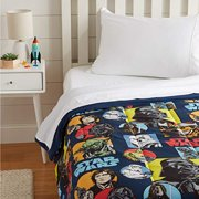 Basics Star Wars Galactic Grid Comforter, Twin