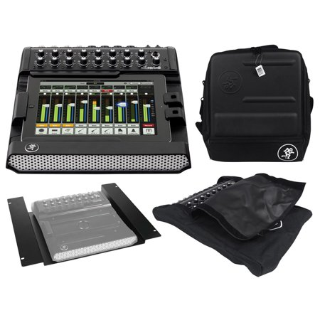- New Mackie DL1608 Lightning 16-chan Mixer w/lPad Control+Bag+Rack Kit+Dust Cover