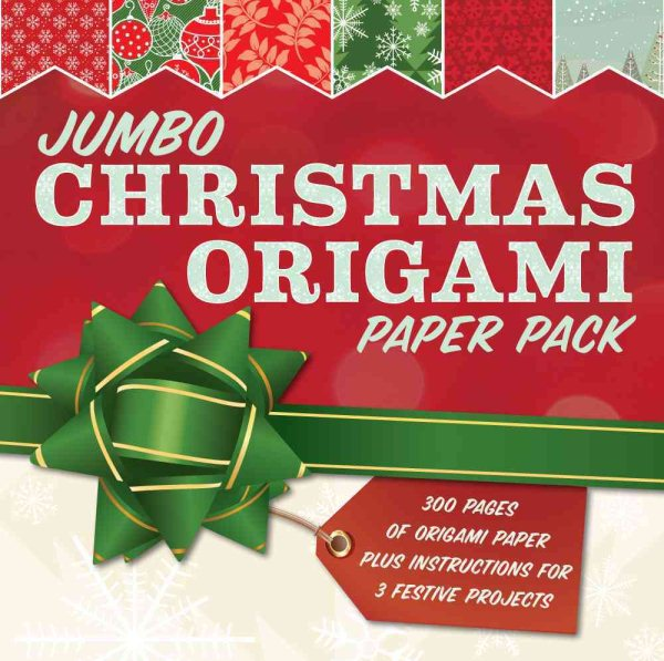 Jumbo Christmas Origami Paper Pack 285 Sheets Of Origami Paper Plus