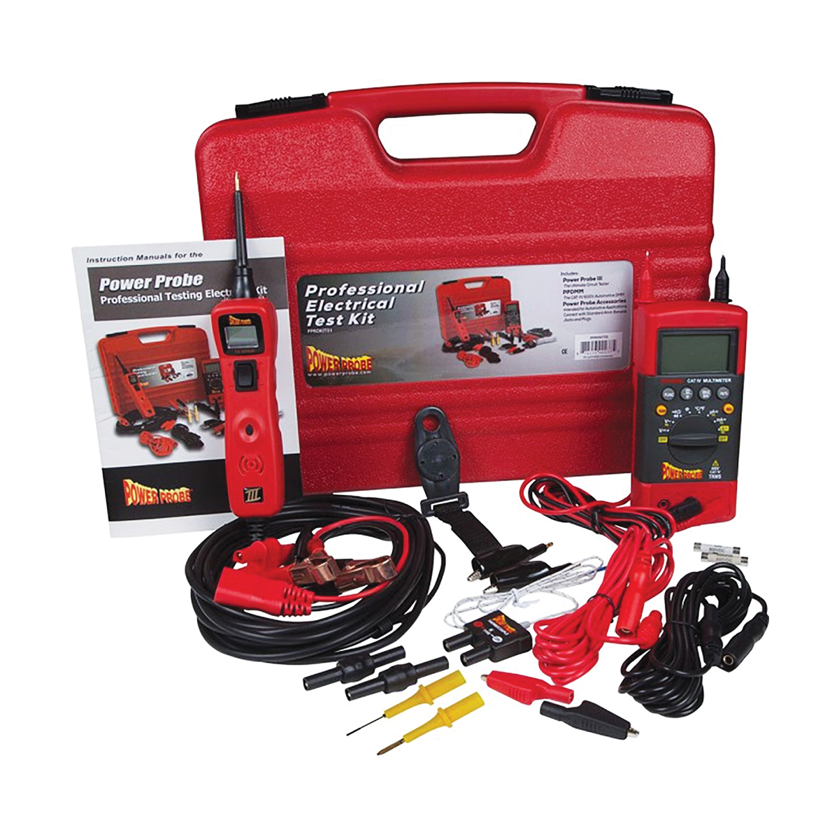 Power Probe Professional Testing Electrical Kit