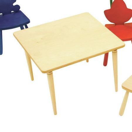 the children 39 s furniture co kids square arts and crafts. Black Bedroom Furniture Sets. Home Design Ideas