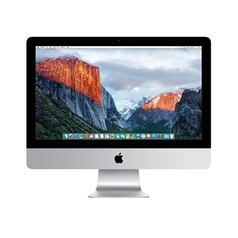 "Apple iMac 21.5"" All in One PC Intel i5-5250U Dual Core 1.6GHz 1TB 8GB MK142LL/A - Refurbished"