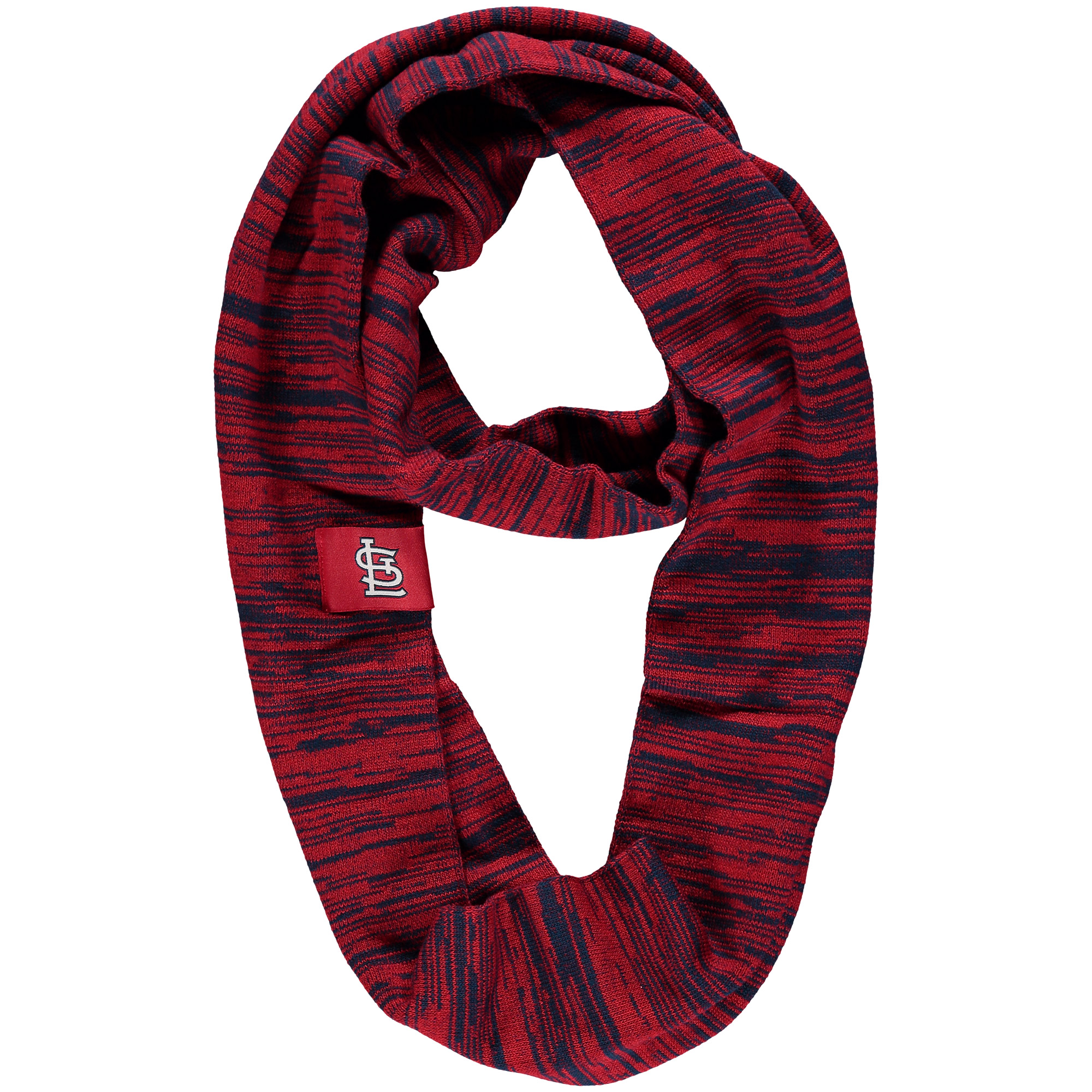 St. Louis Cardinals Colorblend Infinity Scarf - Red - No Size
