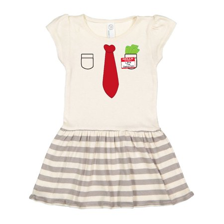 Hello my name is Little Tax Deduction Toddler Dress