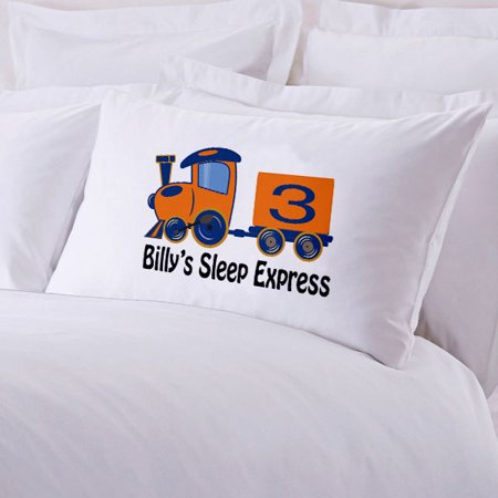 Sale! Sale! Sale! Monogrammed Personalized Custom Sleep Train Pillowcase for Kidz. Made in the USA. ()